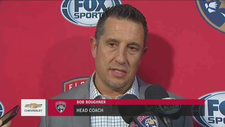 Bob Boughner liked how Panthers spread scoring around in Ottawa