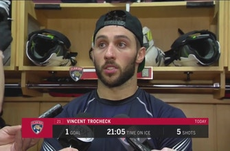 Vincent Trocheck disappointed with Panthers' execution Saturday