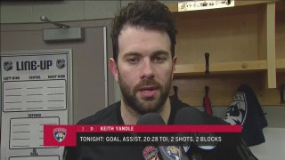 Keith Yandle says strong start was critical for Panthers