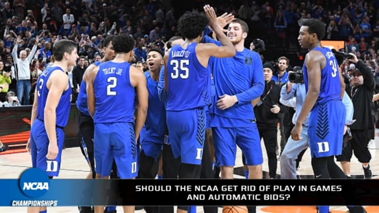 Are play-in games and automatic bids in the NCAA Tournament legit?