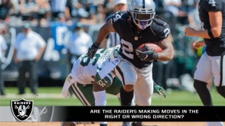 Are the Raiders making the right offseason moves?