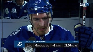 Ryan McDonagh explains how the Lightning were able to rally back