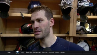 Boone Jenner believes the Blue Jackets are building more momentum after each win