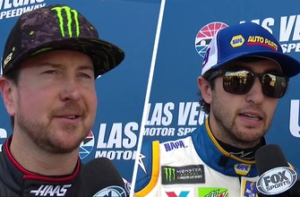 Chase Elliot, Kurt Busch on 'ruined day' after wrecking out in Las Vegas | 2018 LAS VEGAS | FOX NASCAR