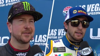 Chase Elliott, Kurt Busch on 'ruined day' after wrecking out in Las Vegas | 2018 LAS VEGAS | FOX NASCAR