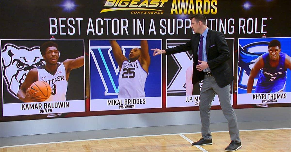 ece4b454ebf Casey Jacobsen hands out Big East Oscars | FOX Sports