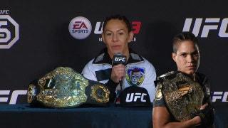 Cyborg wants to fight Amanda Nunes next | The Tap | UFC 222