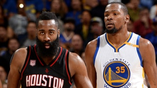 Nick Wright reveals why LeBron should pay attention to what Harden, Durant share in common