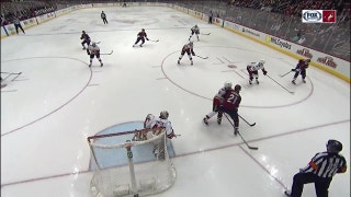 Keller makes ridiculous  no-look pass to set up Panik goal