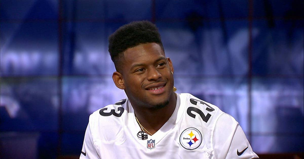 899db4efa JuJu Smith-Schuster campaigns for LeBron James to sign with the Steelers