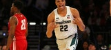 Former President Obama picks Michigan State, UConn in NCAA brackets