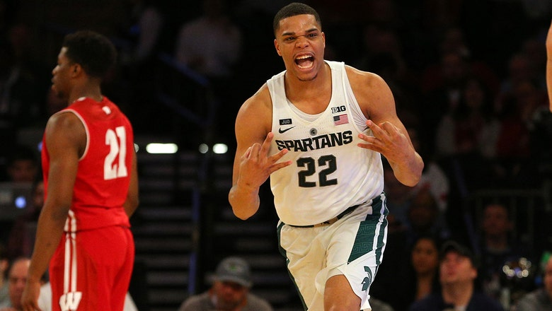 No. 2 Michigan State barely edges Wisconsin in quarterfinals of Big Ten tournament