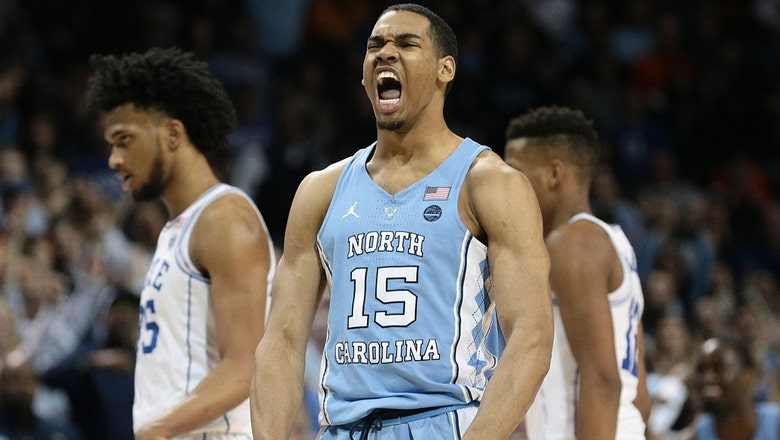 No. 12 North Carolina tops No. 5 Duke in ACC Tournament for 1st time since 1998