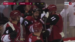 Ekman-Larsson beats ex-teammate Smith for 100th career goal