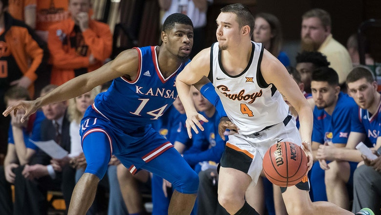 Oklahoma State completes season sweep of No. 6 Kansas with 82-64 win in Stillwater