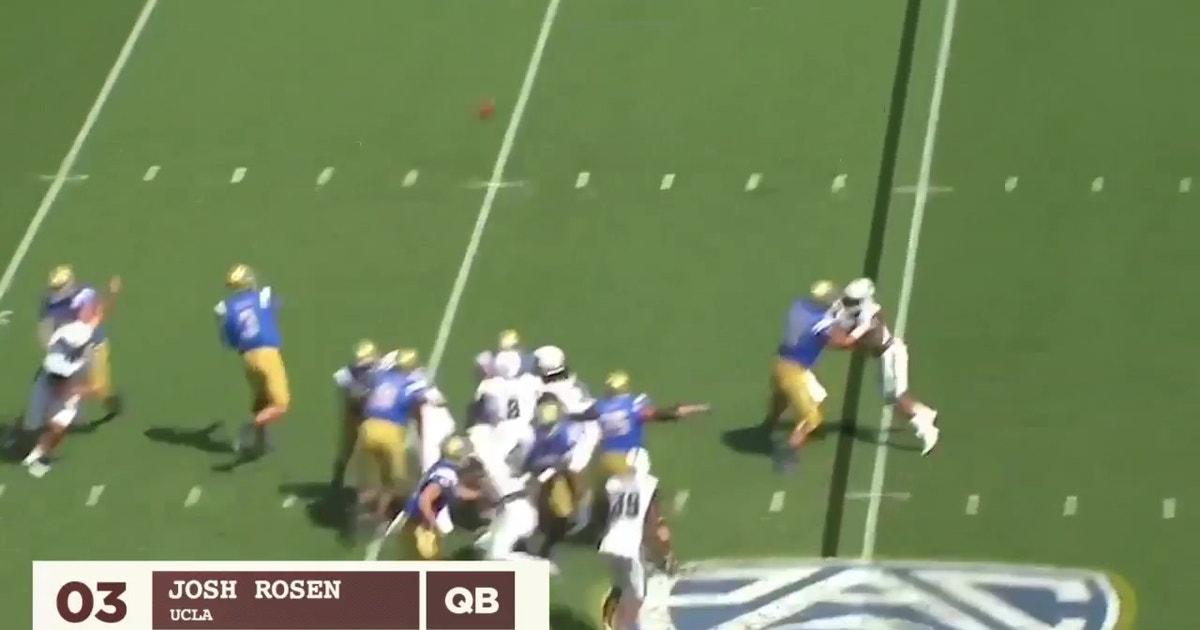 Baker Mayfield jumps Josh Rosen in Joel Klatt's Top QBs in the NFL Draft