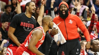 Cris Carter on the Houston Rockets: I wouldn't be surprised if they hoisted the trophy at season's end