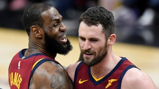 Nick Wright reacts to LeBron's clutch pass to Kevin Love: He makes the right play, no matter what