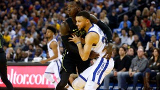 Hawks LIVE To GO: Warriors outlast Hawks in 2nd half despite injury to Curry