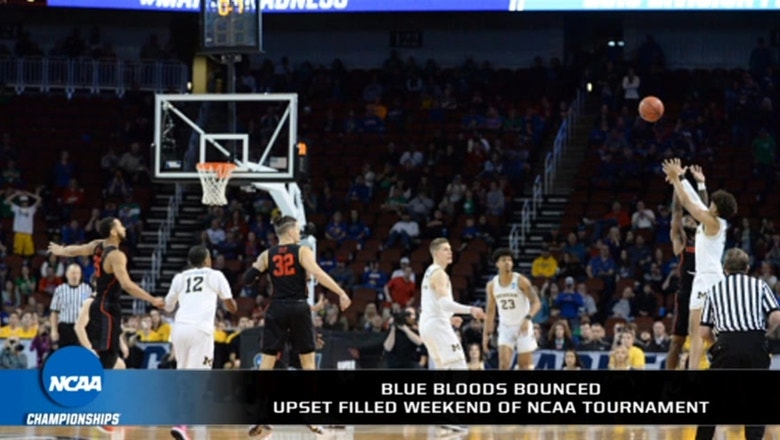 Was this the most exciting opening weekend in NCAA Tournament history?