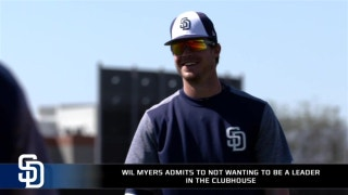 Wil Myers says he is okay without a leadership role with the Padres