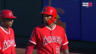 WATCH: Walk-off single by Michael Hermosillo wins it for Angels