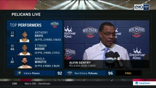 Alvin Gentry: 'Both teams played extremely well defensively'
