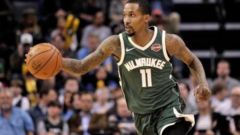 Brandon Jennings, Bucks guard (↑ UP)