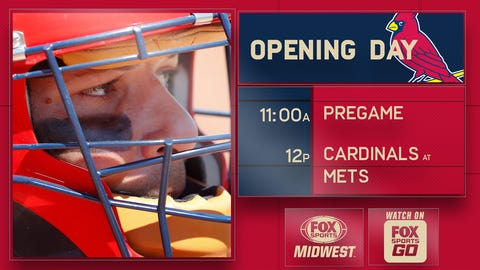 Cardinals Drop Season Opener to Mets 9-4 in NY