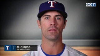 Cole Hamels on Jake Diekman: 'One of the best athletes I've ever been around'
