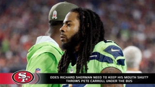 Does Richard Sherman need to stop talking?