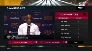 Larry Drew on LeBron's big night: 'I've never seen anything like it.'