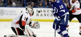 J.T. Miller's 1st career hat trick not enough for Lightning in home loss to streak-busting Senators