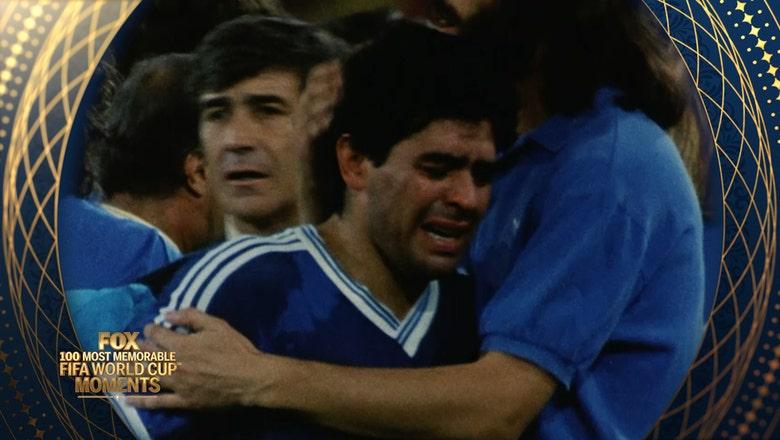 65th Most Memorable FIFA World Cup Moment: Germany Beat Maradona's Argentina