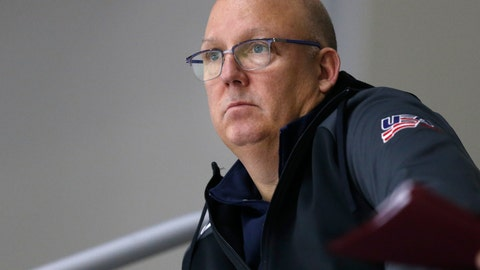 Bob Motzko, Gophers men's hockey coach (↑ UP)