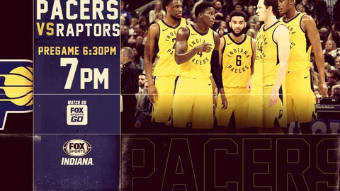Two hot teams collide when Pacers host Raptors