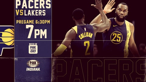 Pacers use explosive third quarter to blow past Lakers
