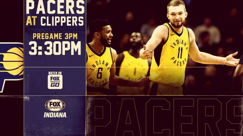 Pacers Win Fifth Straight In Los Angeles