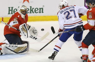 Roberto Luongo stops 40 shots, Panthers shut out Canadiens in dominating fashion