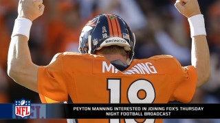 Peyton Manning interested in Fox's Thursday Night Football broadcast