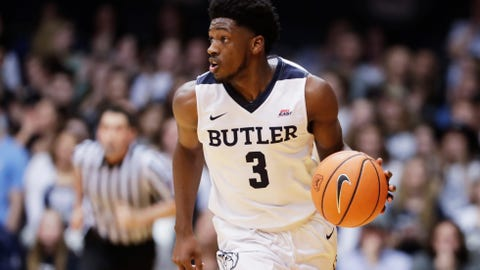 Butler pulls away for 79-62 win over Arkansas