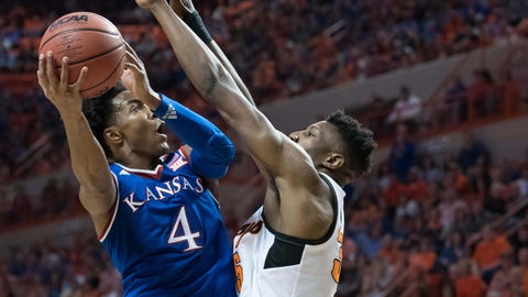 Kansas owns top seed as Big 12 Tournament bracket is finalized