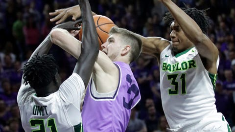 State's Team Effort Overpowers Baylor on Senior Day