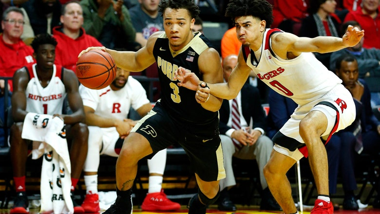 Purdue faces upset-minded Rutgers in pursuit of elusive Big Ten tourney title