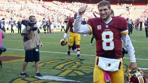 'Farewell, Washington:' Kirk Cousins says goodbye to Redskins fans in blog post