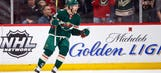 Top line works its magic again, Wild defeat Red Wings 4-1