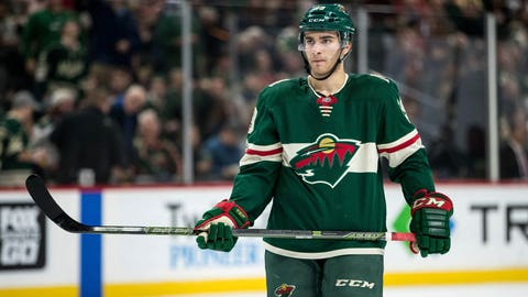 Kunin out for season with Wild