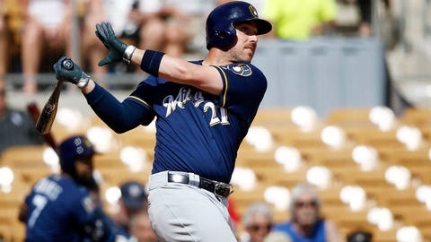 Travis Shaw, Brewers third baseman (↑ UP)