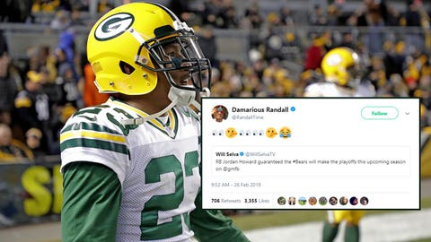 Damarious Randall, Packers defensive back