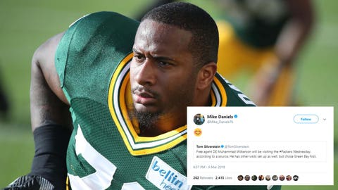 Mike Daniels, Packers defensive lineman